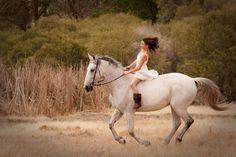 Girl on a horse, love the movement in this one.  Anna Pretorius Photography