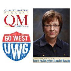 Congrats to Michelle Byrne of the Tanner School of Nursing, on her successful completion of the UWG Online QM Training Program! #uwgonline #qualitymatters #blazingtrailstonewpossibilties #uwg