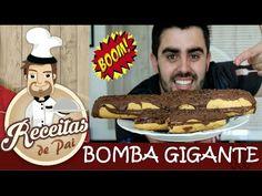 BOMBA DE CHOCOLATE GIGANTE #52 Receitas de Pai [ Testando produtos da CA...