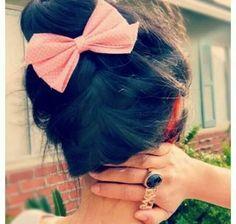 Cute Hair Bun