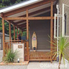 S-House by HaruBrand 海の無い県に作ったサーフハウスです。 #harubrand #ハルブランド #home #house #interior #followme #follow #photo #kawaii #マイホーム #design #家 #住宅 #インテリア #オシャレ #ハウス #建築 #デザイン #家造り #cool #surfhouse #surfing #wooddeck #かっこいい #サーフハウス #サーフィン #ウッドデッキ #デッキ