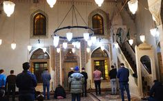 inside Ferhadije Mosque of Sarajevo (built in 1561 AD). Mosque, Architecture, Building, Arquitetura, Buildings, Mosques, Construction, Architecture Design, Architectural Engineering