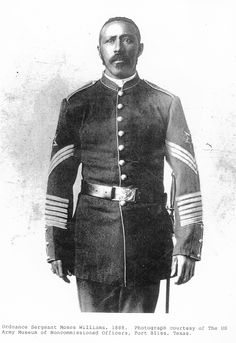 Moses Williams, who started his military career as an illiterate soldier and later became commander of Fort Stevens near what is now Astoria, Ore.     Williams died in 1899 and is buried in Vancouver. Flipper said the former Buffalo Soldier was one of the most decorated soldiers in the history of the U.S. government.
