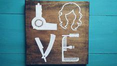 Signo de amor de estilista de cabello por RomansRdDecor en Etsy