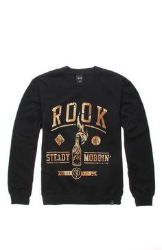 Rook Steady Mobbin Camo Crew Fleece #pacsun