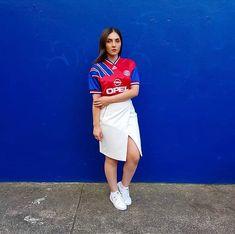 Classic Football Shirts, Vintage Football Shirts, Retro Shirts, Football Fashion, Football Outfits, Sporty Outfits, Football Season, Mode Style, Sports Shirts