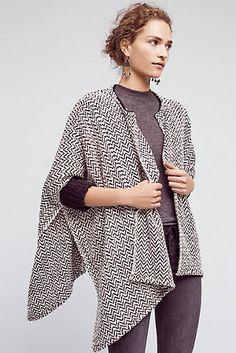 Herringbone Sweater Coat