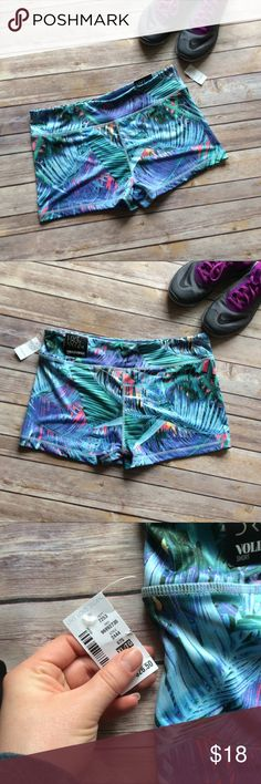 Aeropostale Tropical Volleyball Shorts NWT New with tags tight fit volleyball shorts. Perfect for sports and running! Aeropostale Shorts