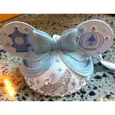 Disney Cinderella Mickey Mouse Ears Hat Ornament