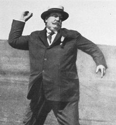 """First Pitch The tradition of a president throwing the """"first pitch"""" for baseball season started with William H. Taft, the 27th president..."""