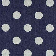 Jeans a pois 2 - Cotone - Poliestere - Spandex - blu marino