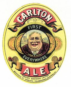 Carlton Ale, First Everywhere Australian Beer, Australian Vintage, Retro Advertising, Vintage Advertisements, Beer Packaging, Design Packaging, British Beer, Beer Label Design, Premium Beer