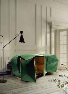 Diamond Emerald Sideboard Exclusive Furniture boca do lobo