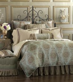 Eastern Accents - Luxury Bedding Collections, Custom Bedding, Bed Linens - Marbella Collection