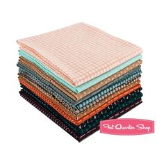 Adobe Modern Batik Collection Fat Quarter Bundle<BR>Me + You for Hoffman Fabrics