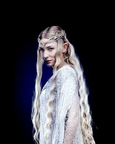 The Queen of the Elves... in Middle-Earth.  Nobody is EVER going to touch this role again.