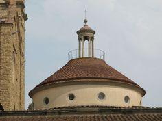Капелла Пацци. Изящная крыша.
