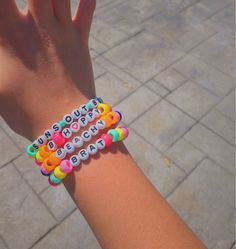 Vsco trendy pastel letter bead bracelets - diy jewelry To Sell Ideen Letter Bead Bracelets, Rave Bracelets, Pony Bead Bracelets, Letter Beads, Summer Bracelets, Pony Beads, Ankle Bracelets, Word Bracelets, Beaded Friendship Bracelets