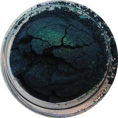 Lingered in Twilight: A twilit forest: blackened blue and green tones with slightly metallic shimmer.