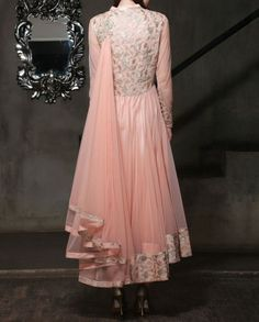Cherry Blossom Anarkali Suit