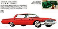 1961 Buick LeSabre 4-Door Hardtop - Promotional Advertising Poster
