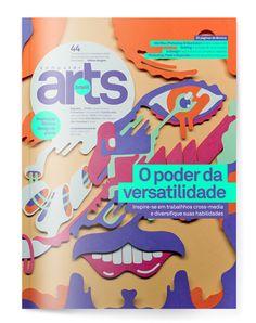 COMPUTER ARTS BRASIL  ⎯ CROSSMEDIA by AP303 MULTIDISCIPLINARY DESIGN STUDIO, via Behance