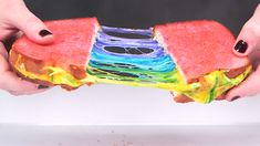 This rainbow grilled cheese recipe is literally unicorn goals