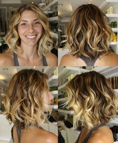 "If i were ever to do this... I would have to have bulk thinning done...but this is really cute ...color and cut........ safe the "" do it""  Im not ready for this short hair style....but I do love it."