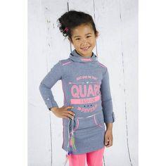 Quapi CASANDRA Petrol melee Quapi winter 2015 maat 92 t.m 164 #vipkidz #Girls #wintercollectie2015 #fashion #online #snelleverzending