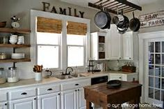 open shelves in kitchen made of reclaimed wood and steel pipes - - Yahoo Image Search Results