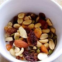 pre work out snack: 1/4 dried fruit 1/2 cup whole grain cereal