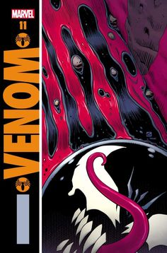 Legendary Watchmen artist Dave Gibbons pokes fun at his own work in this amazing new variant cover for Marvel's Venom series. Dc Comics, Venom Comics, Dave Gibbons, Neil Gaiman, Thundercats, Comic Book Covers, Comic Books, Comics Mexico, Deadpool