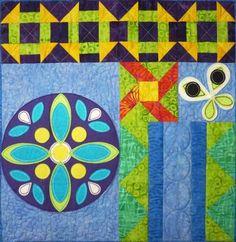 Boho Bliss Block 10 Quilt Pattern TCQ-44