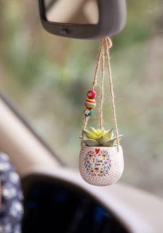 I Love You Mini Hanging Succulent - Natural Life