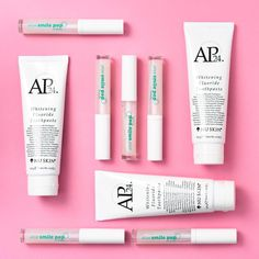 AP 24 Anti-Plaque Fluoride Toothpaste uses a safe, gentle form of fluoride to remove plaque and protect against tooth decay. Nu Skin, Dry Lips, Soft Lips, Smile Whitening, Whitening Fluoride Toothpaste, Stained Teeth, White Teeth, Beauty Routines, Lip Gloss