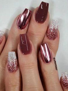 onycholysis - tj nails - nails - tech - acrylic nails I th. onycholysis - tj nails - nails - tech - acrylic nails I th. Ten Nails, New Year's Nails, Gorgeous Nails, Pretty Nails, Thanksgiving Nails, Dipped Nails, Chrome Nails, Nagel Gel, Cute Acrylic Nails