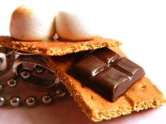 Polymer Clay S'mores Best Friend Necklaces  BFF by OhLuckyCharm, $30.00