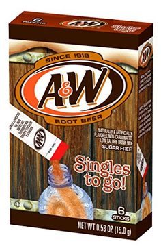 Take the great taste of A&W root beer wherever you go with these portable drink mix sachets! They're fun and easy to use. Simply mix one sachet in with water, and you've got the refreshing taste of A&W root beer wherever you want it! Beer Boot, Sugar Free Drinks, Low Calorie Drinks, Calories In Sugar, Shake Bottle, Protein Shake Recipes, Cream Soda, Beer Recipes, Root Beer