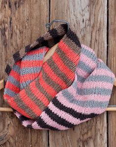 Middle Mountain Cowl - 5 skeins of Balance #cowl #organic
