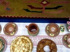 Vasi e pane tipici della Moldavia
