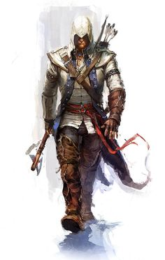 Assasin's Creed III - Connor i don't think Connor is better than ezio but he's pretty bad ass