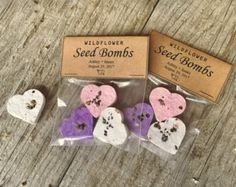 200 XL Wildflower Seed Bombs by FreeMountainDesigns on Etsy