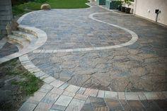 60 Best Belgard Pavers Ideas - Enjoy Your Time Concrete Driveway Pavers, Outdoor Patio Pavers, Outside Patio, Brick Pavers, Back Patio, Patio Patterns Ideas, Belgard Pavers, Landscape Design, Car Lots