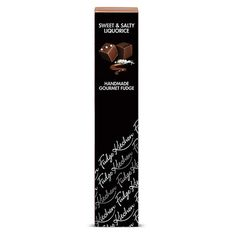 Sweet & Salty Liquorice Handmade Gourmet Fudge by Fudge Kitchen ...