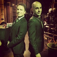 Dads in suits... @Team_Barrowman #Arrow @cw_arrow @thecw
