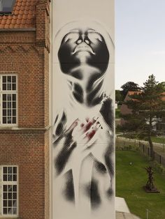 El Mac New Mural In Aalborg, Denmark StreetArtNews