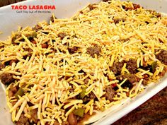 Taco Lasagna – Can't Stay Out of the Kitchen Homemade Guacamole, Homemade Salsa, Homemade Taco Seasoning, Food N, Food And Drink, Mexican Lasagna Recipes, Taco Lasagna, Beef Sauce, Company Dinner