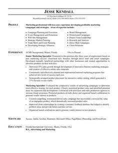 Sample Resumes For Marketing Professionals Software Developer Resume Example  Httptopresumesoftware .