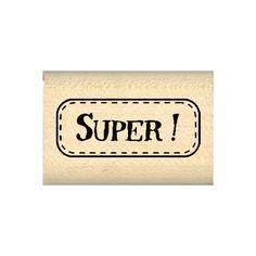 Tampon bois SUPER !