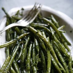 Herbed Haricots Verts Recipe | SAVEUR